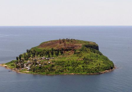 a typical island on lake victoria- source neworldencyclopedia vicky phelps