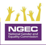 logo of the NGEC