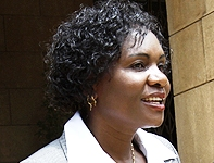 winfred lichuma chair of the gender and equality commission after being sworn in